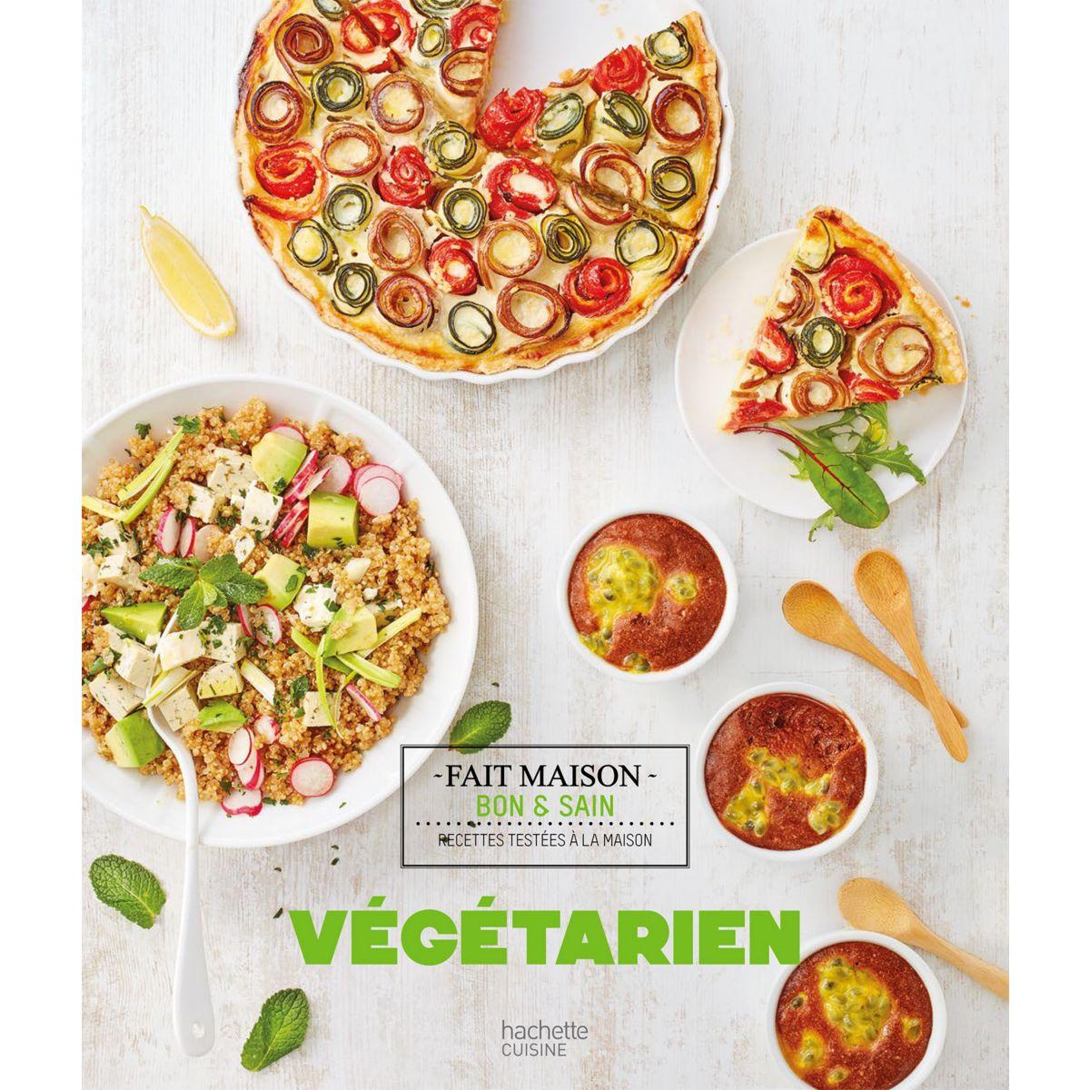 Livre hachette vegetarien - la sélection webdistrib.com (photo)