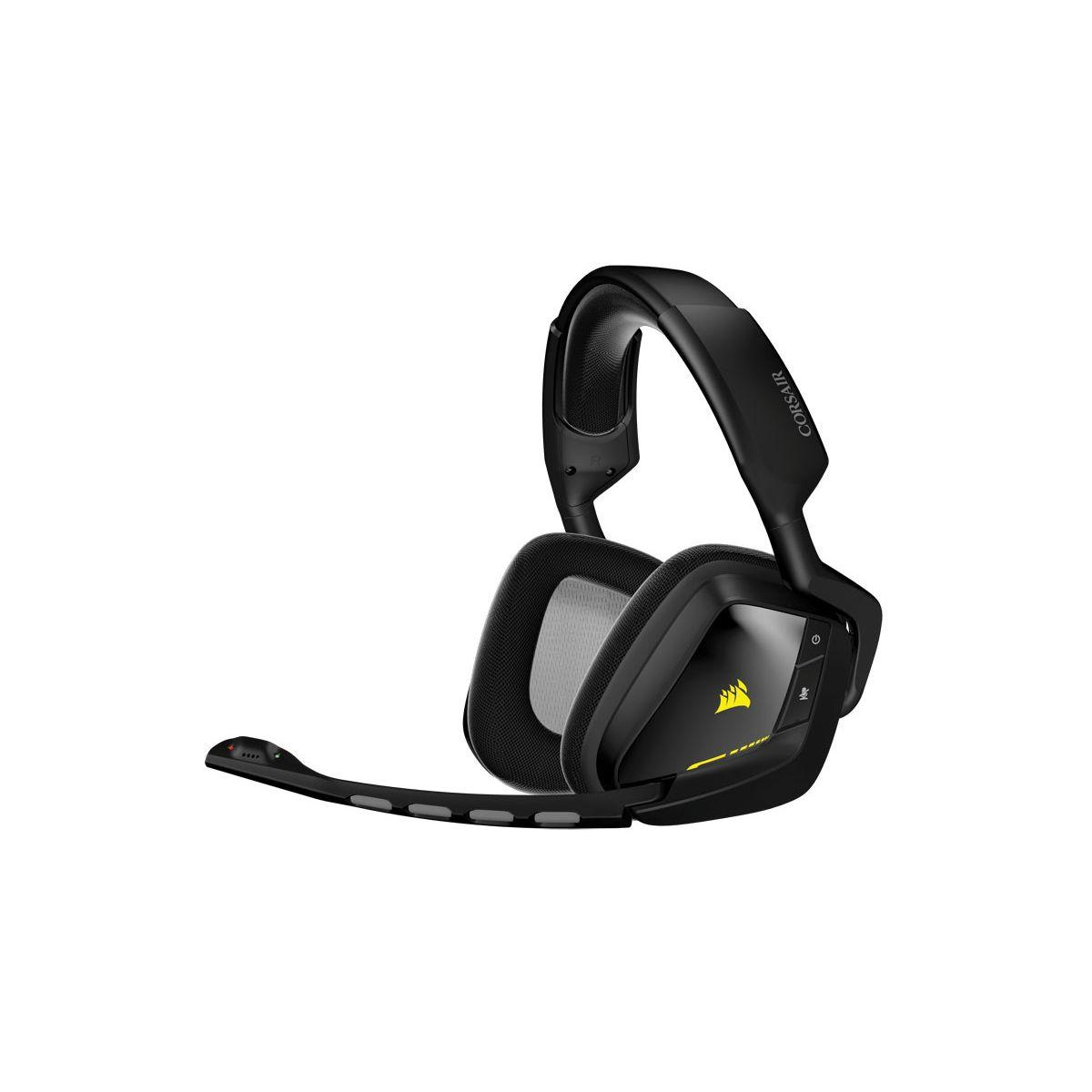 Casque micro gamer corsair void rgb wireless 7.1 (photo)