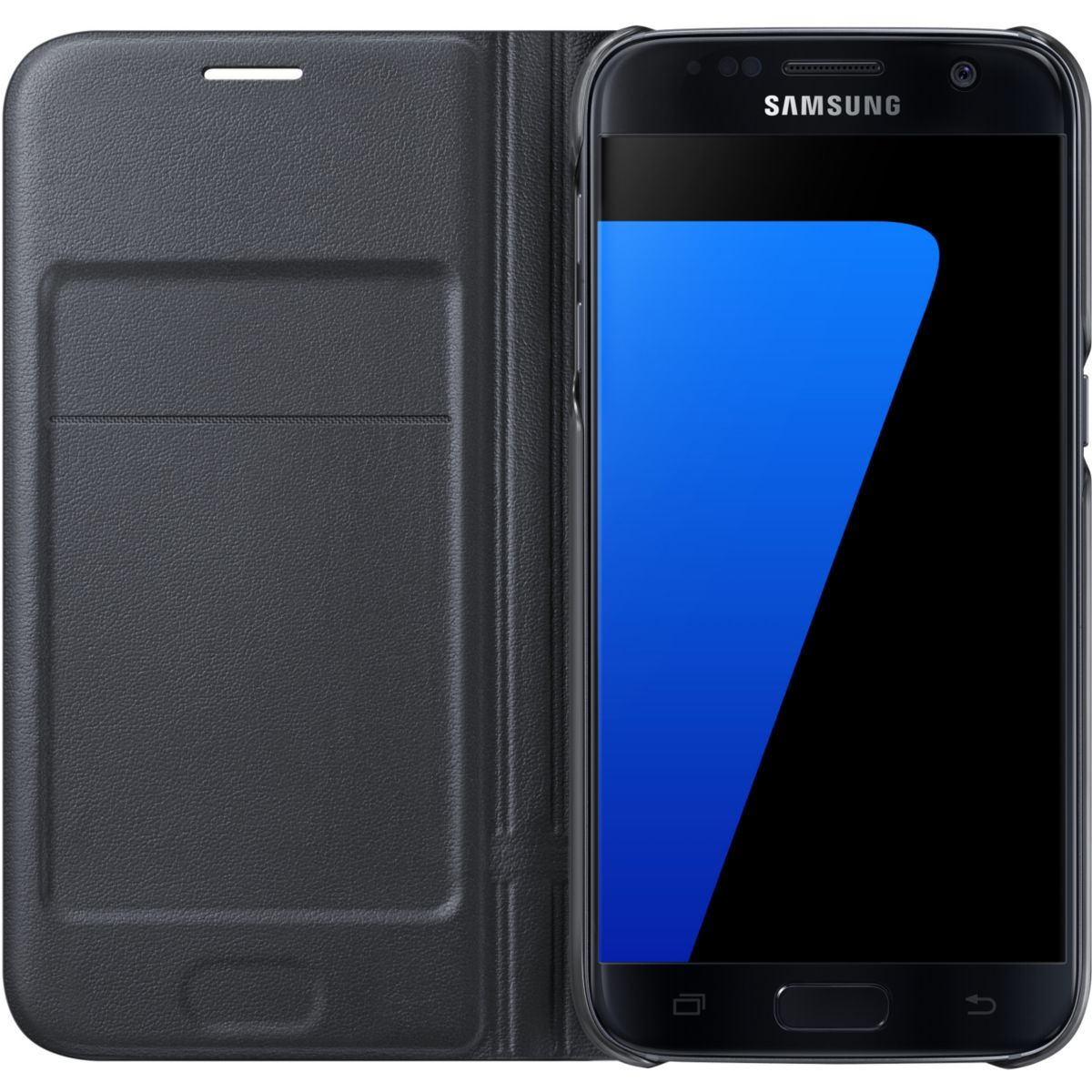 Etui samsung view cover led galaxy s7 noir - soldes et bons plans