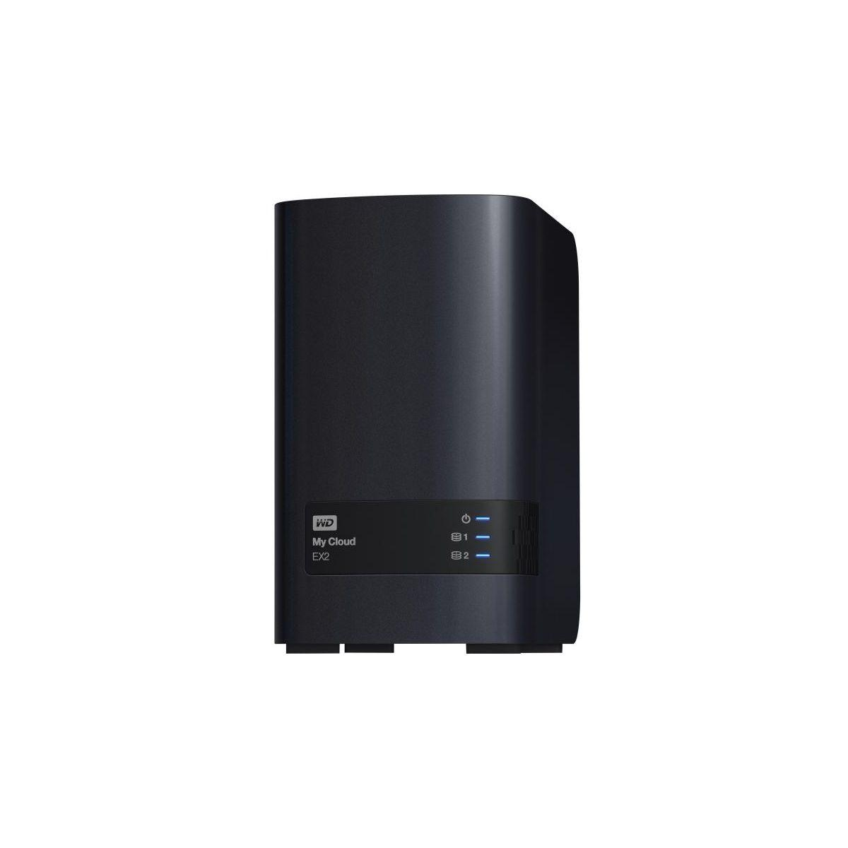 Serveur nas western digital 8to my cloud ex2 ultra - 2% de rem...