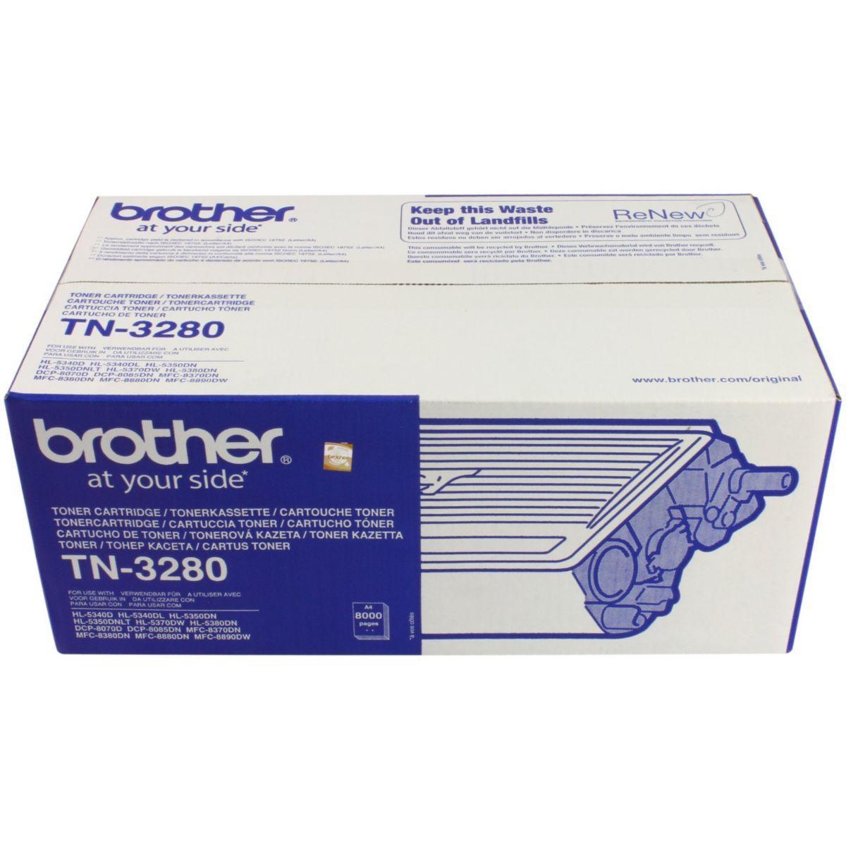 Toner brother tn-3280 - 2% de remise imm?diate avec le code : ...