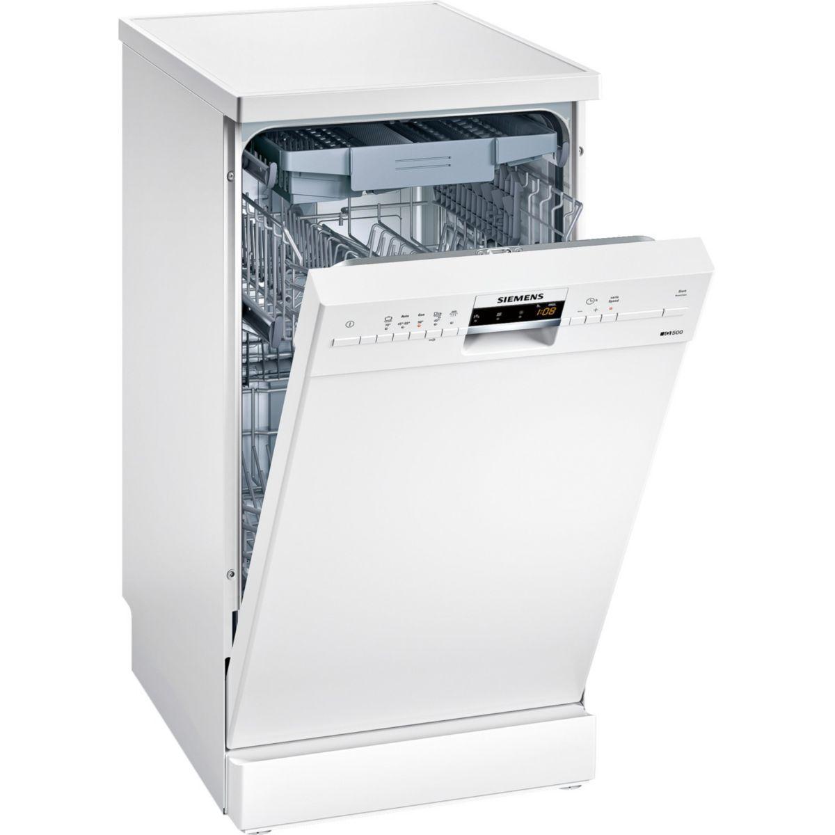 Lave-vaisselle 45cm siemens sr25m284eu - 2% de remise : code gam2