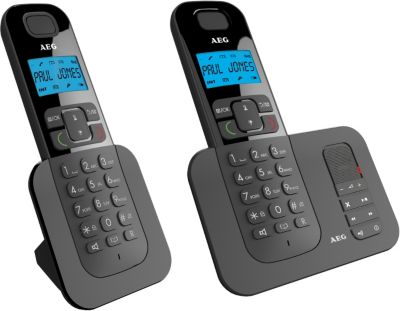 Téléphone répondeur sans fil duo aeg voxtel d505 - soldes et bonnes affaires à prix imbattables
