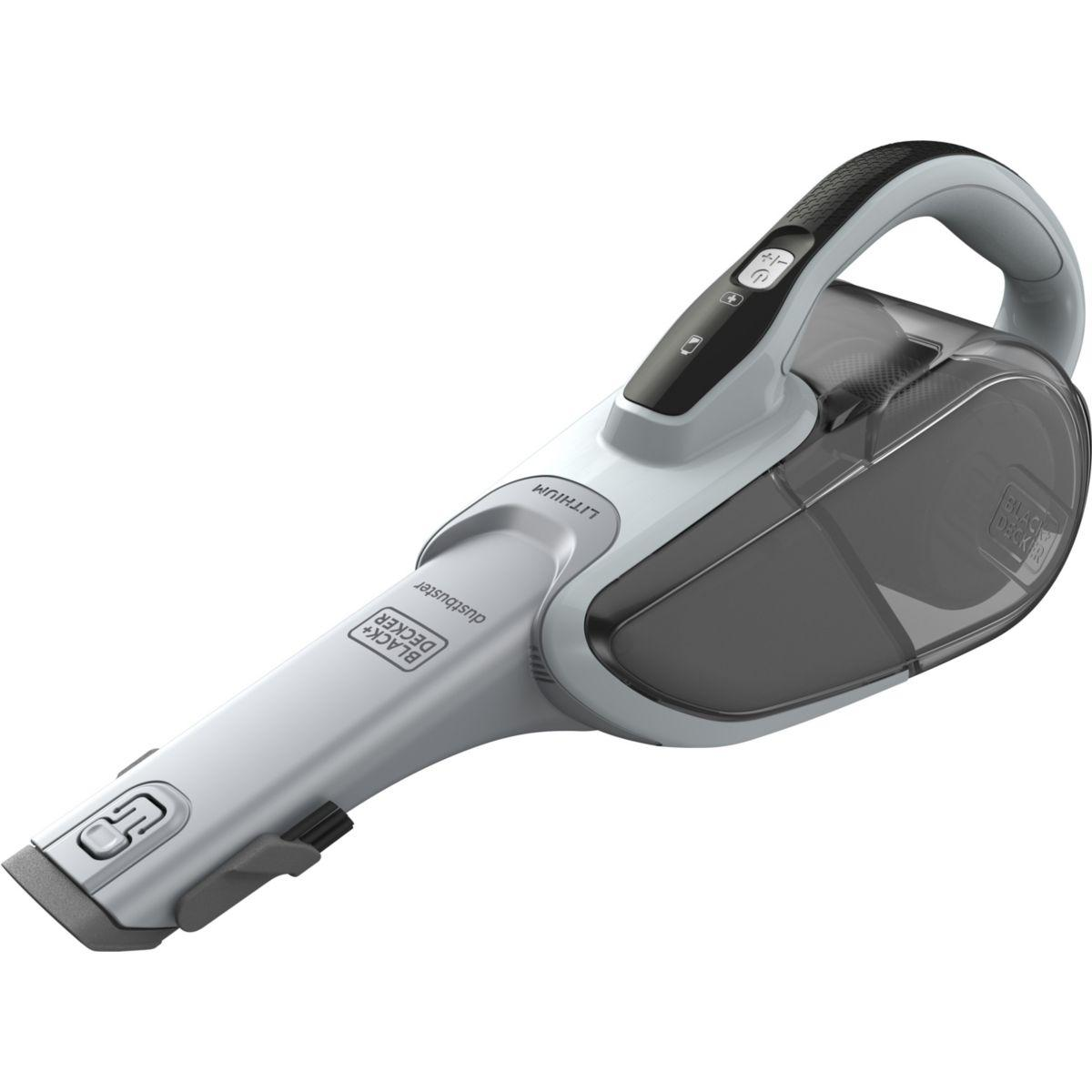 Aspirateur main black et decker dvj215j dustbuster lithium 7.2...