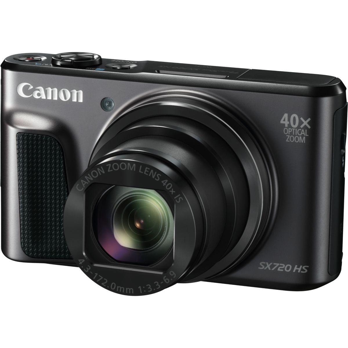 Appareil photo compact canon sx720 hs noir (photo)