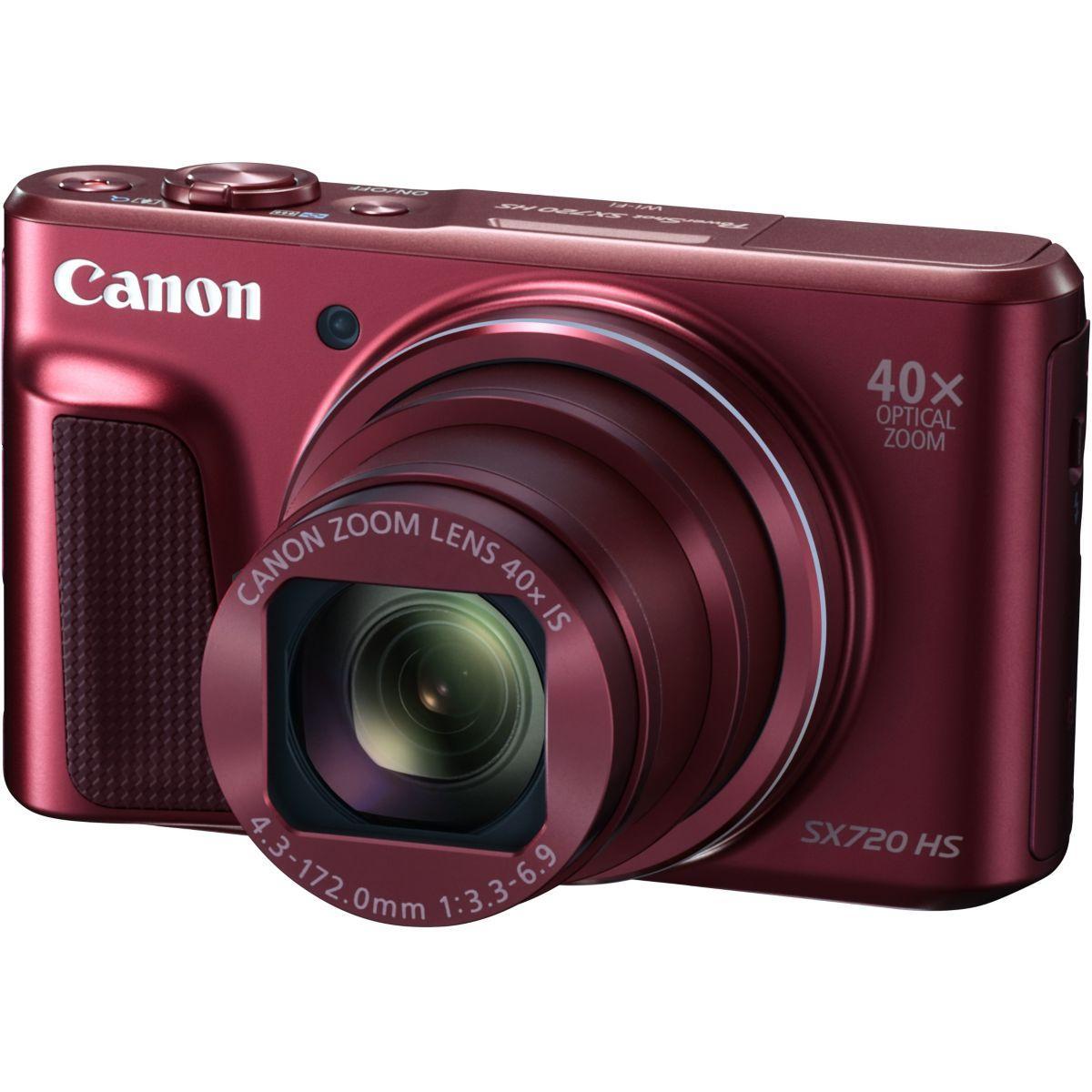 Appareil photo compact canon sx720 hs rouge (photo)