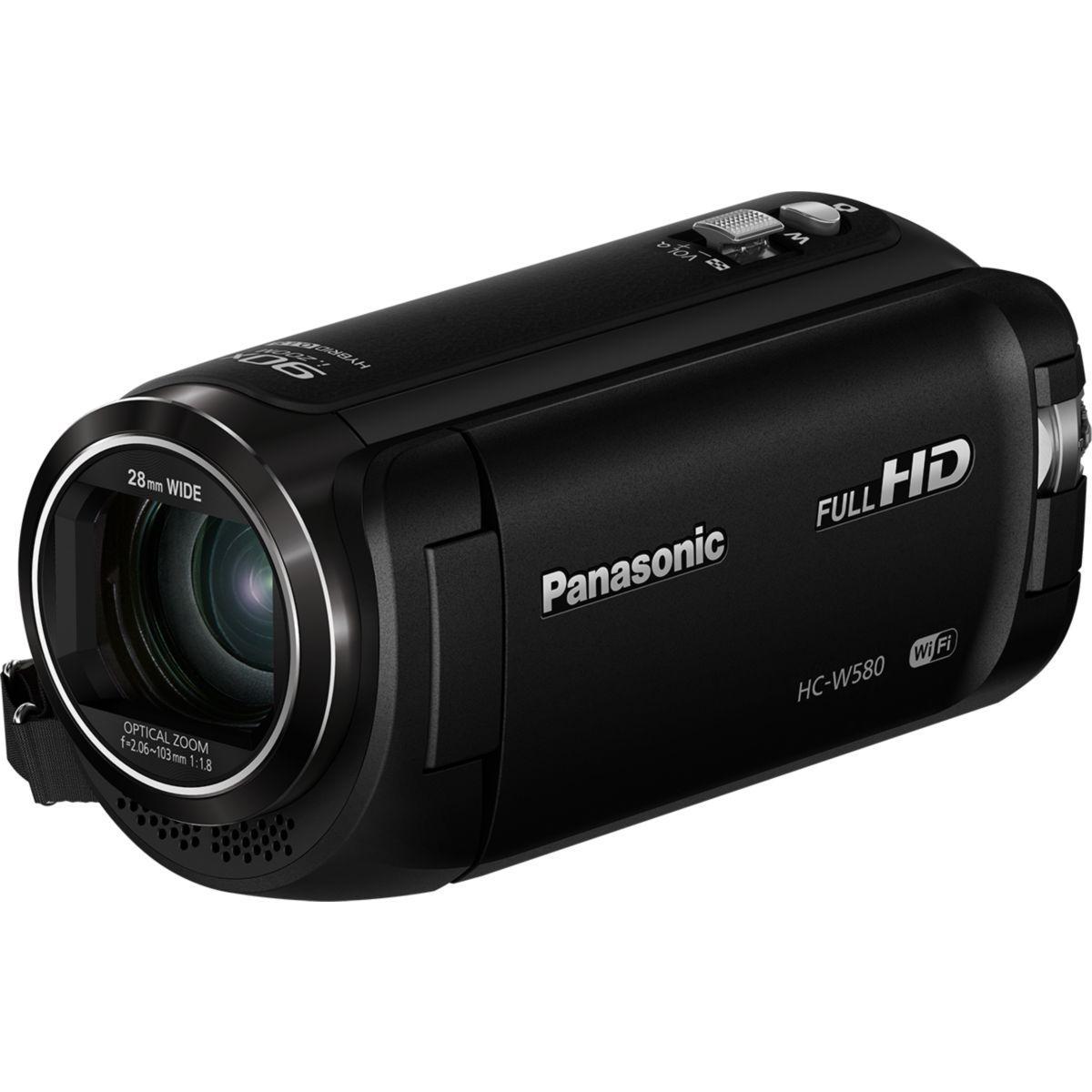 Camescope panasonic hc-w580 noir pack sd 16go - 3% de remise immédiate avec le code : multi3