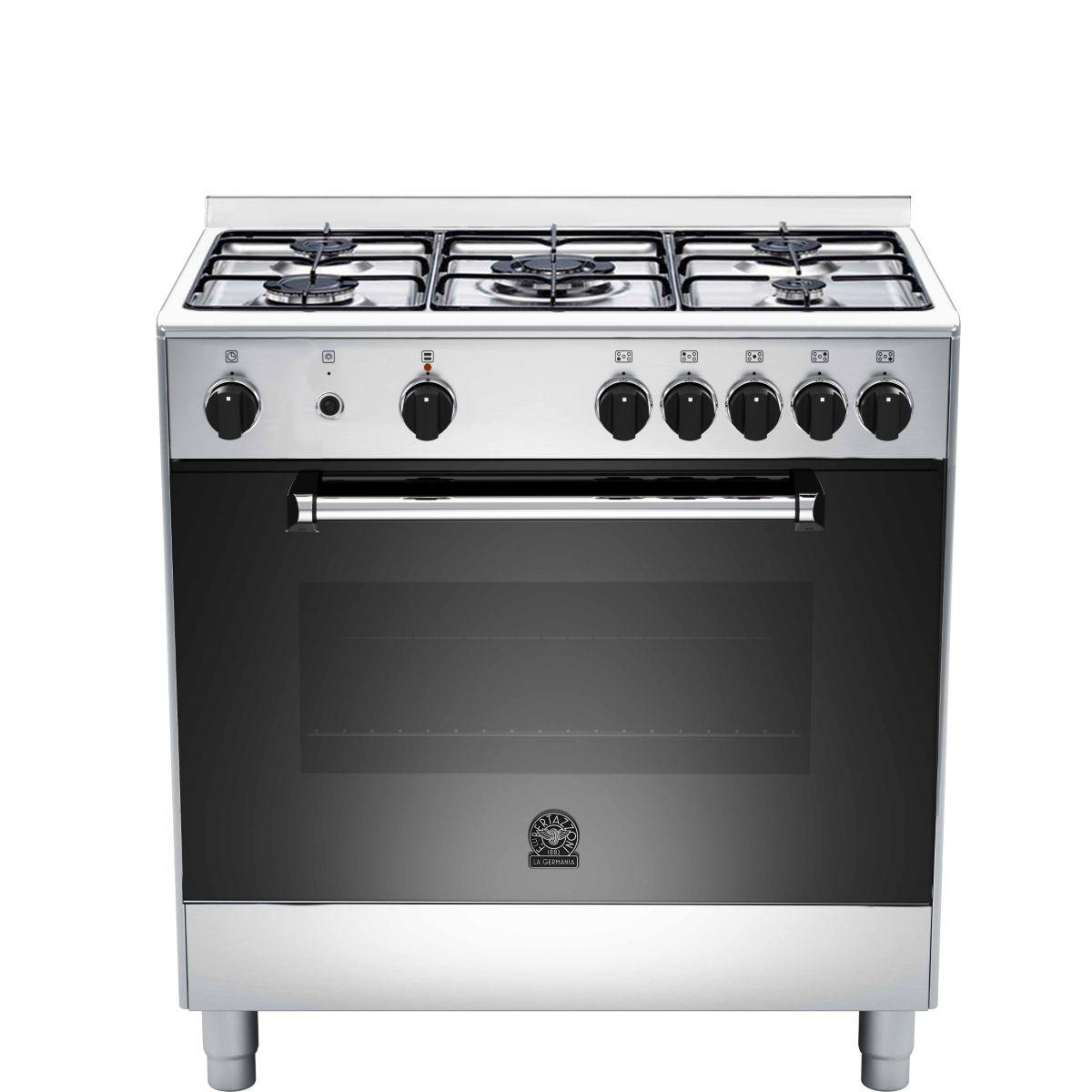 Piano de cuisson gaz bertazzoni germania am85c21dx (photo)