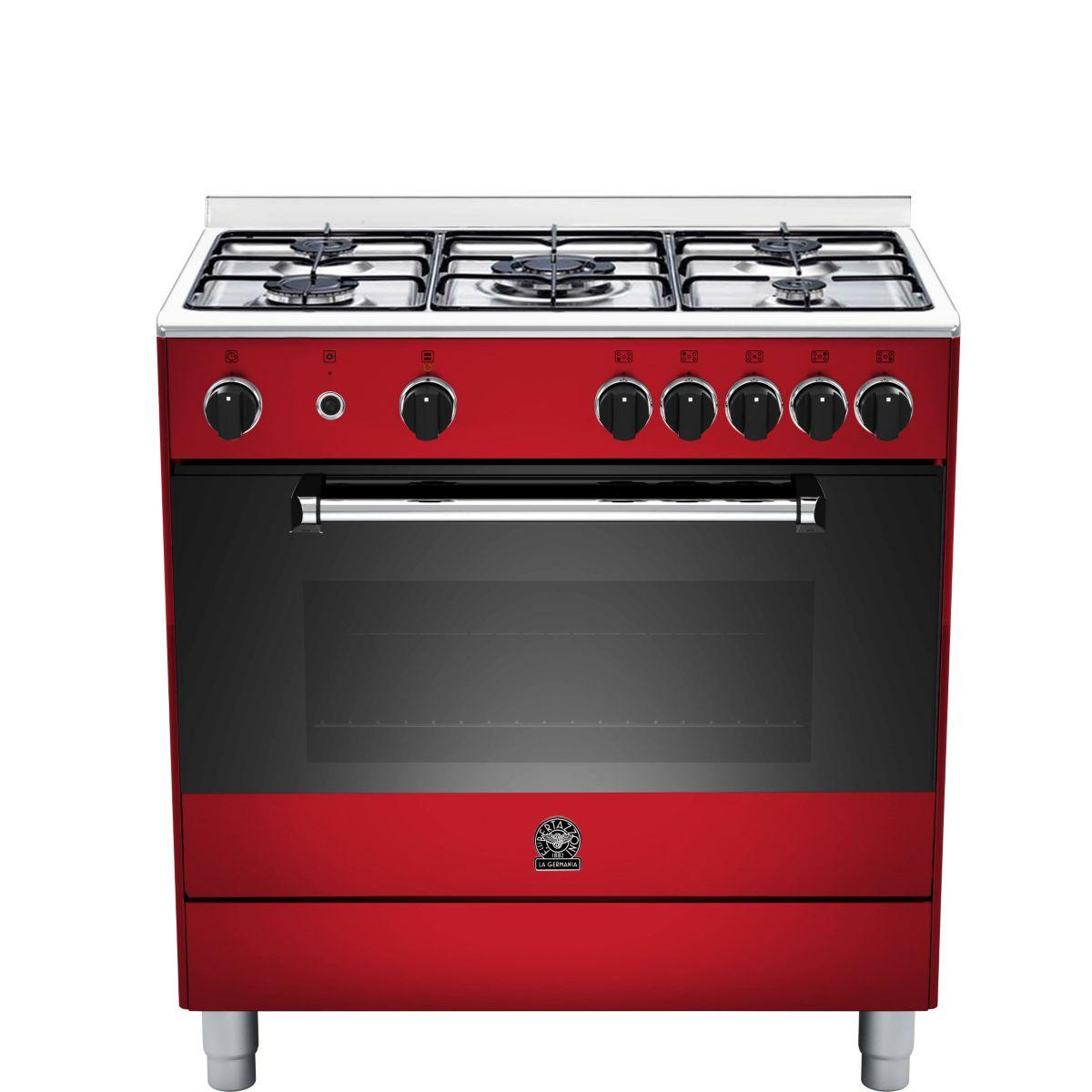 Piano de cuisson gaz bertazzoni germania am85c21dvi (photo)