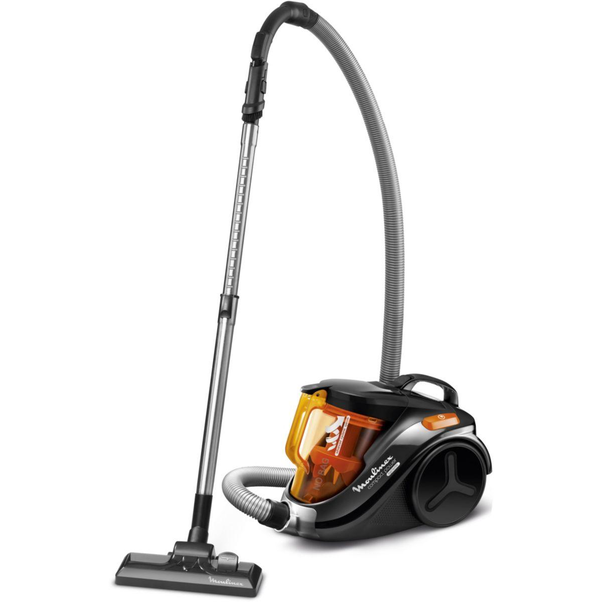 Aspirateur sans sac moulinex mo3723pa power cyclonic - 5% de r...
