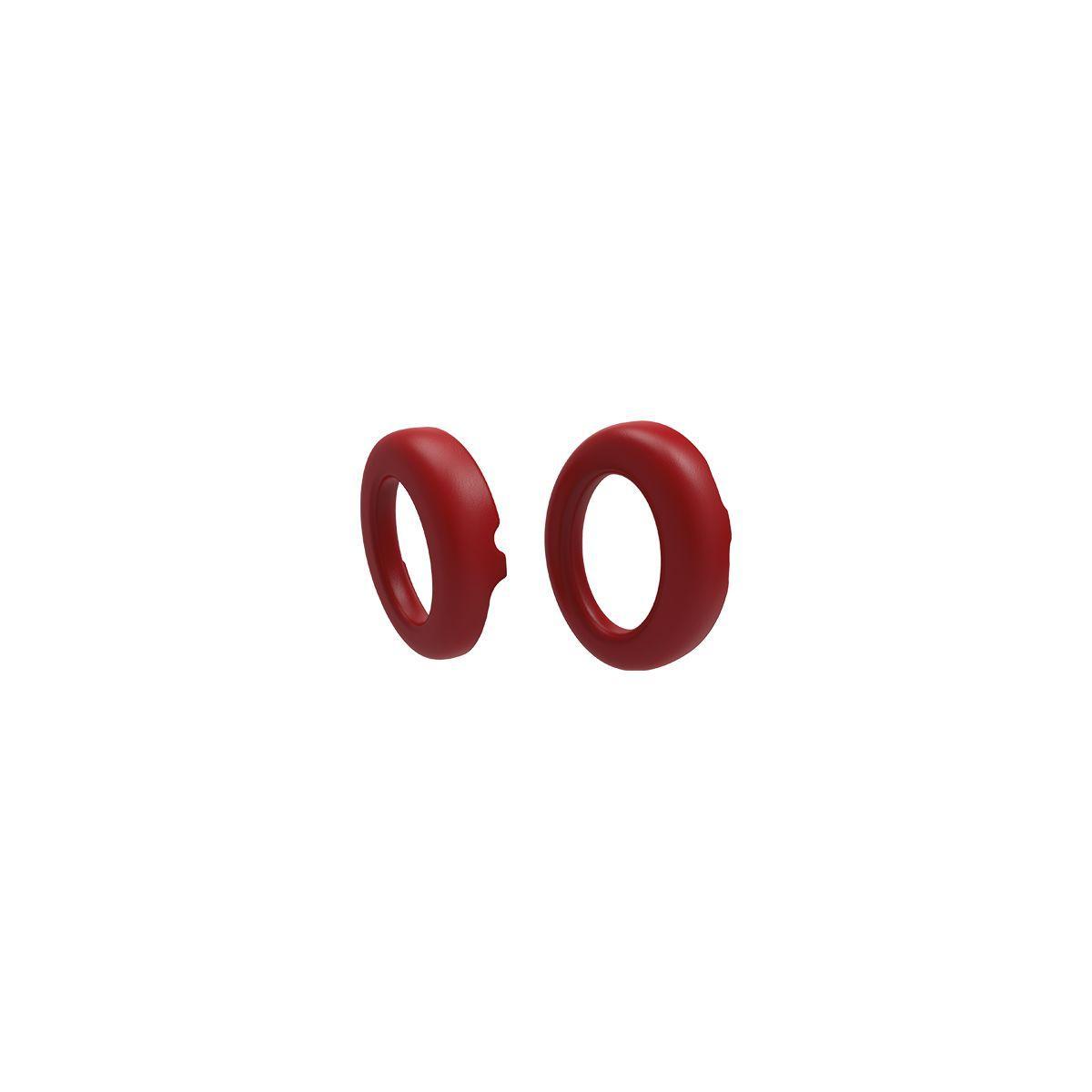 Accessoire parrot coussinets rouge croco x2 zik3 - livraison offerte avec le code livofferte