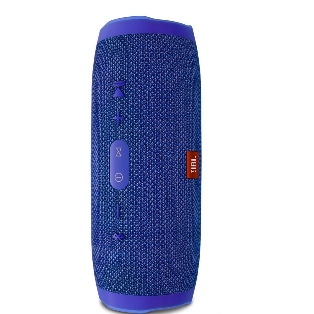 Enceinte bluetooth jbl charge 3 bleu - livraison offerte : code premium (photo)