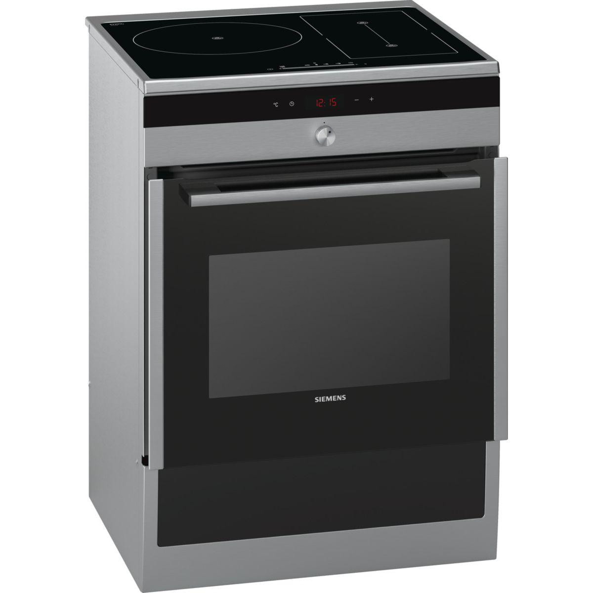 Cuisinière induction siemens ha857580f (photo)