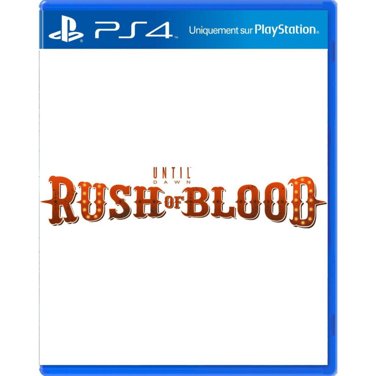 Jeu ps4 sony jeu vr rush of blood (photo)