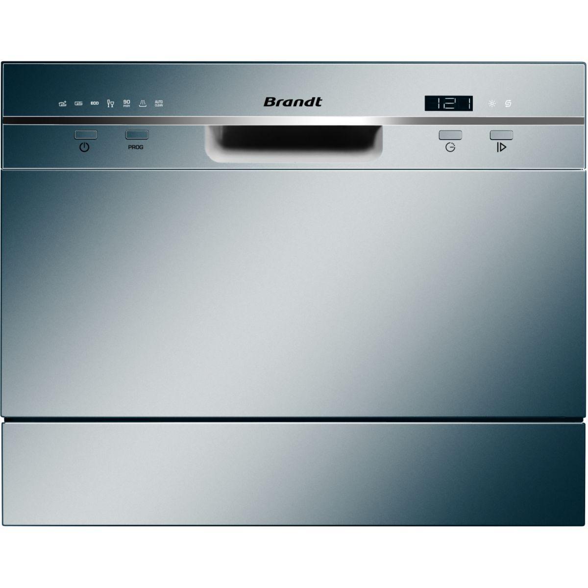 Lave-vaisselle 45cm brandt dfc6519s silver - 2% de remise immédiate avec le code : cool2 (photo)