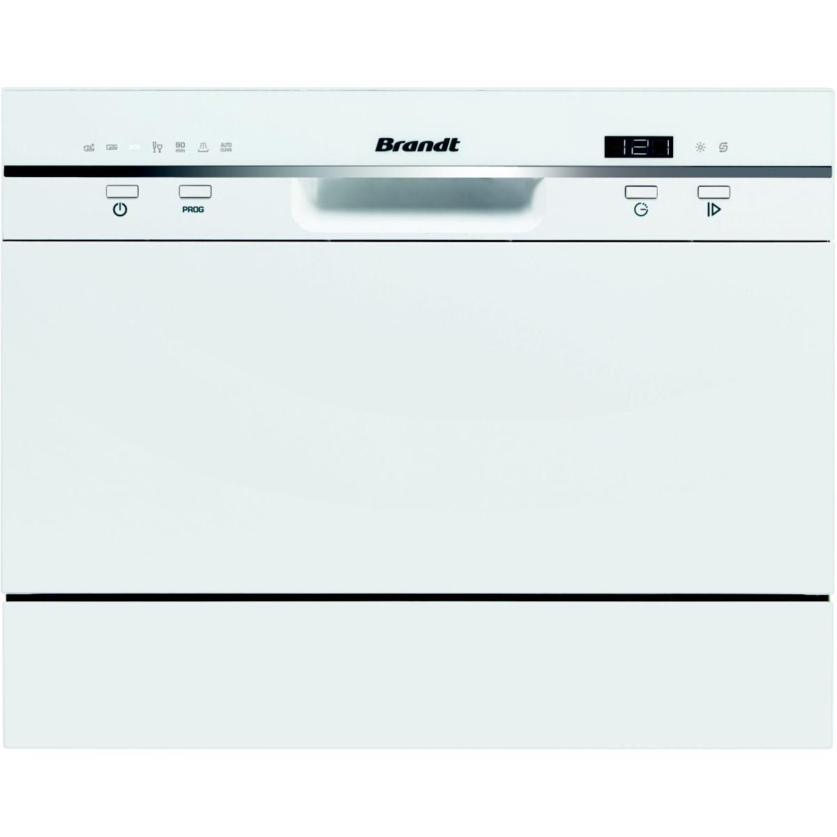 Lave-vaisselle 45cm brandt dfc6519w blc - 5% de remise : code gam5 (photo)