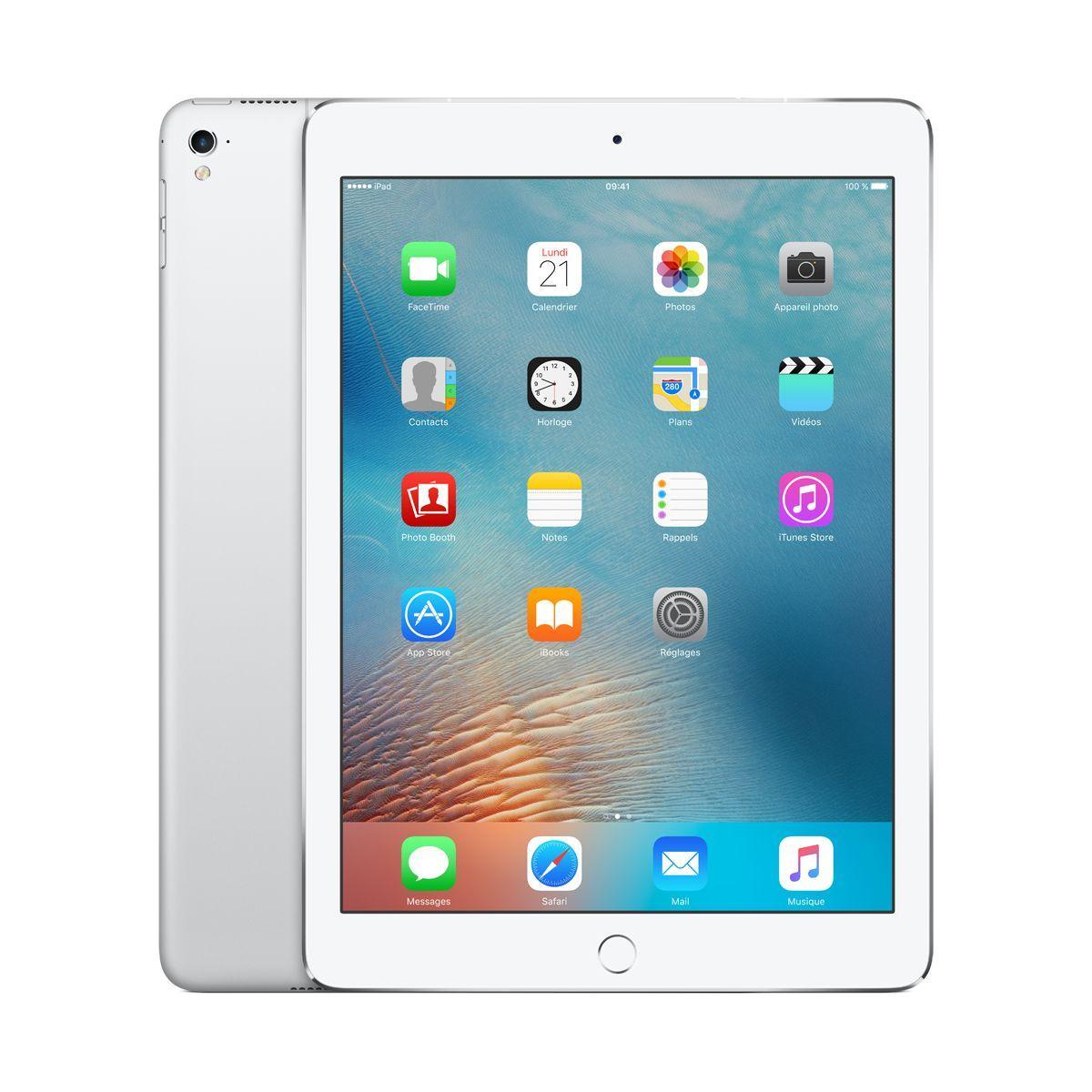 Apple ipad pro 9.7 32go cellular argent (photo)