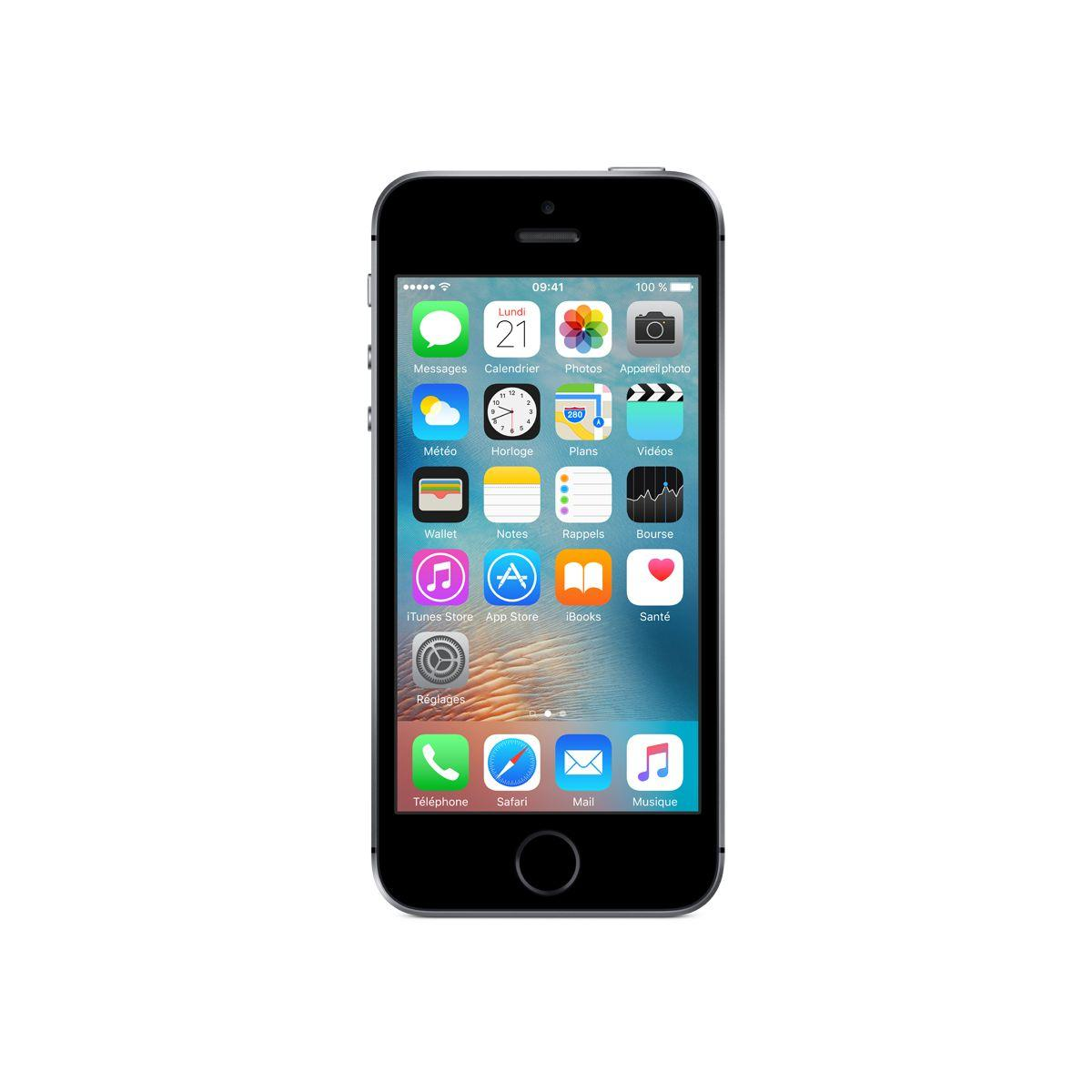 Apple iphone se 64go gris sidéral (photo)