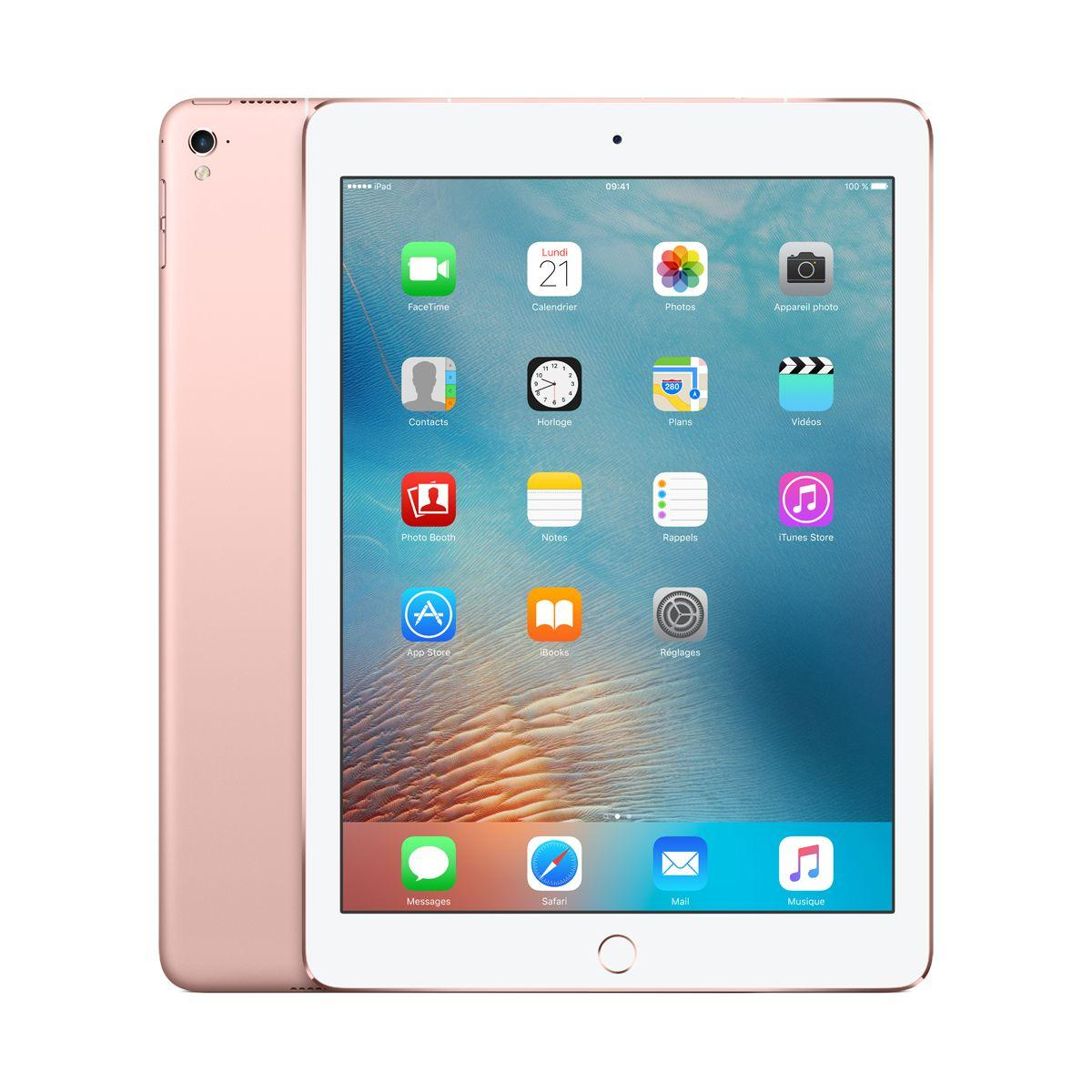 Apple ipad pro 9.7 128go cellular or rose (photo)