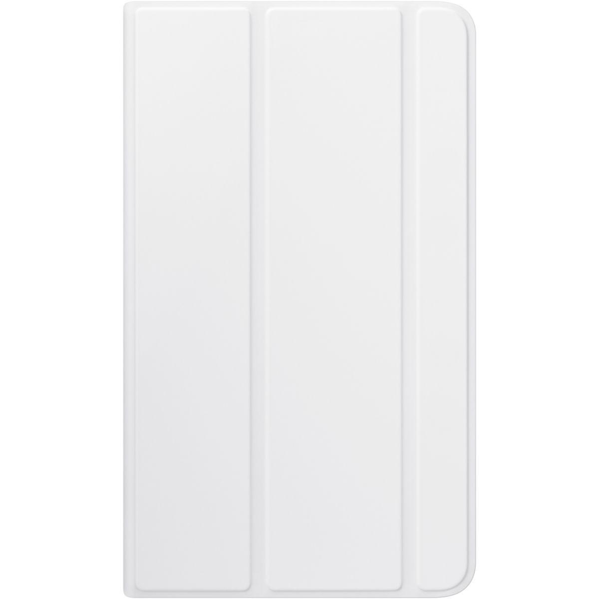 Etui tablette samsung book cover tab a 6 7'' blanc - livraison offerte : code premium (photo)