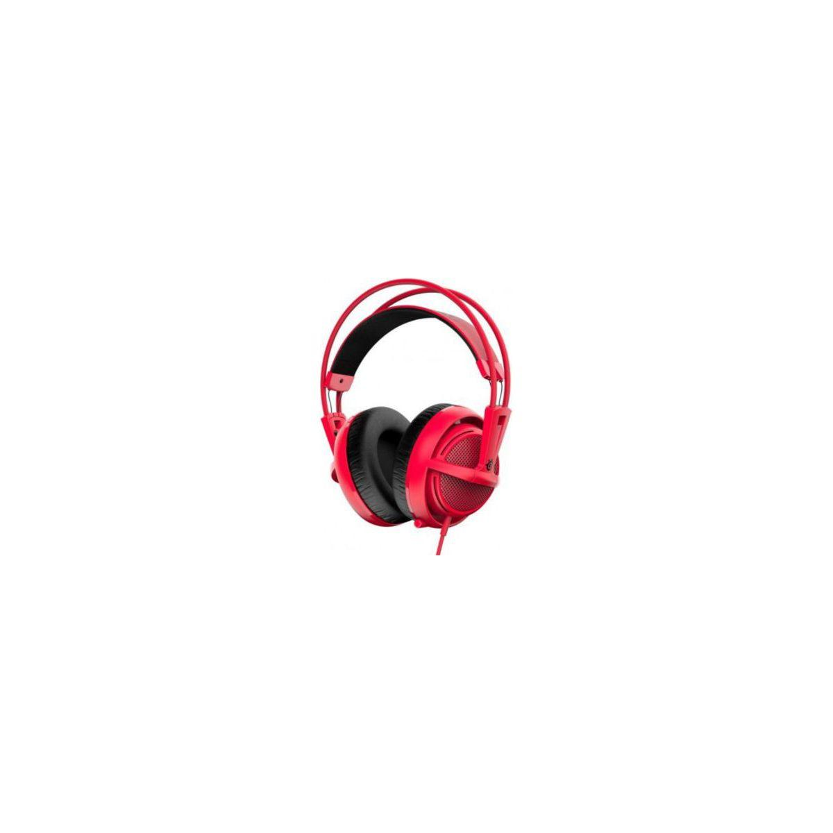 Casque micro gamer steelseries siberia 200 forged red (photo)