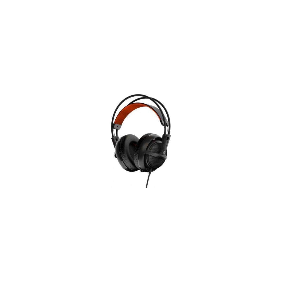 Casque micro gamer steelseries siberia 200 black (photo)
