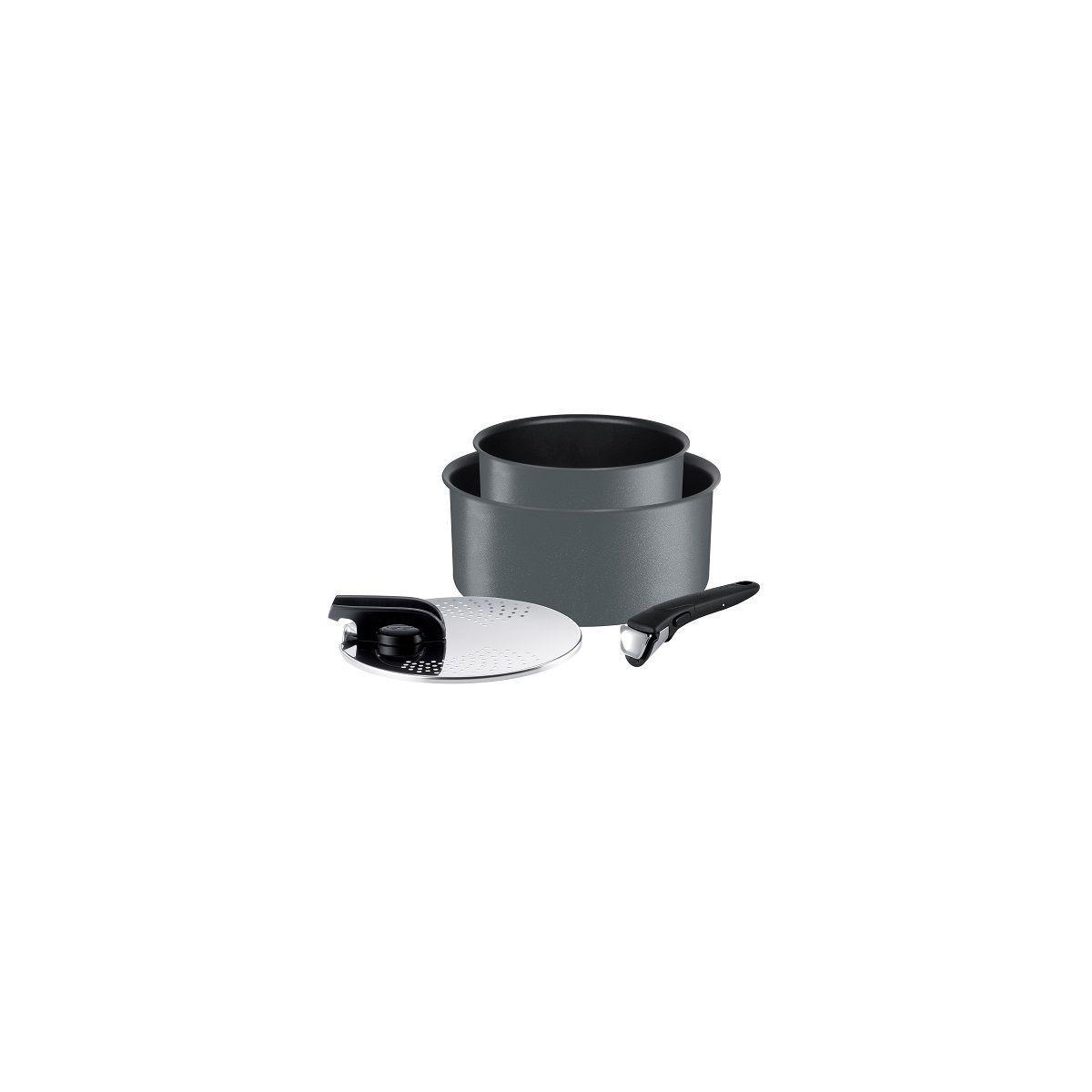 Batterie de cuisine tefal casseroles ingenio performance 4p gris - 7% de remise imm�diate avec le code : fete7 (photo)
