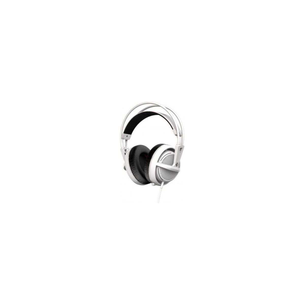 Casque micro gamer steelseries siberia 200 white (photo)