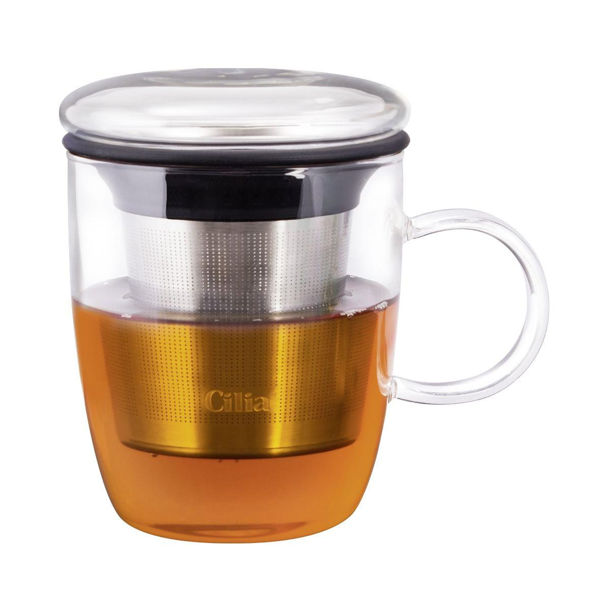 Mug infuseur � th� melitta infuseur � th� cilia (photo)