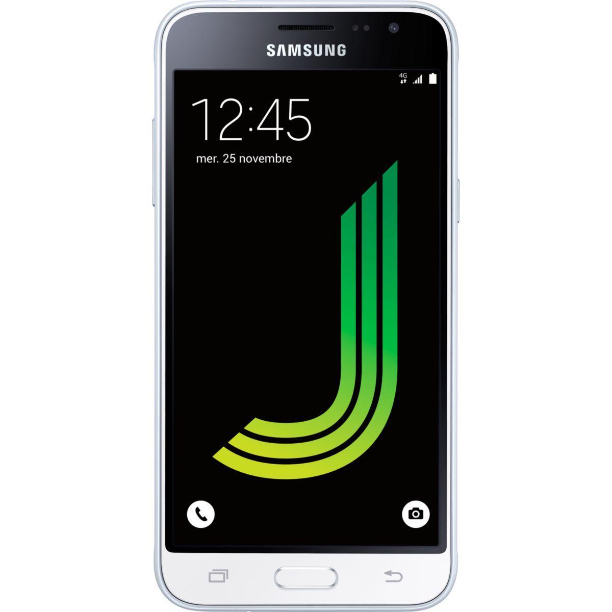 Smartphone samsung galaxy j3 blanc edition 2016