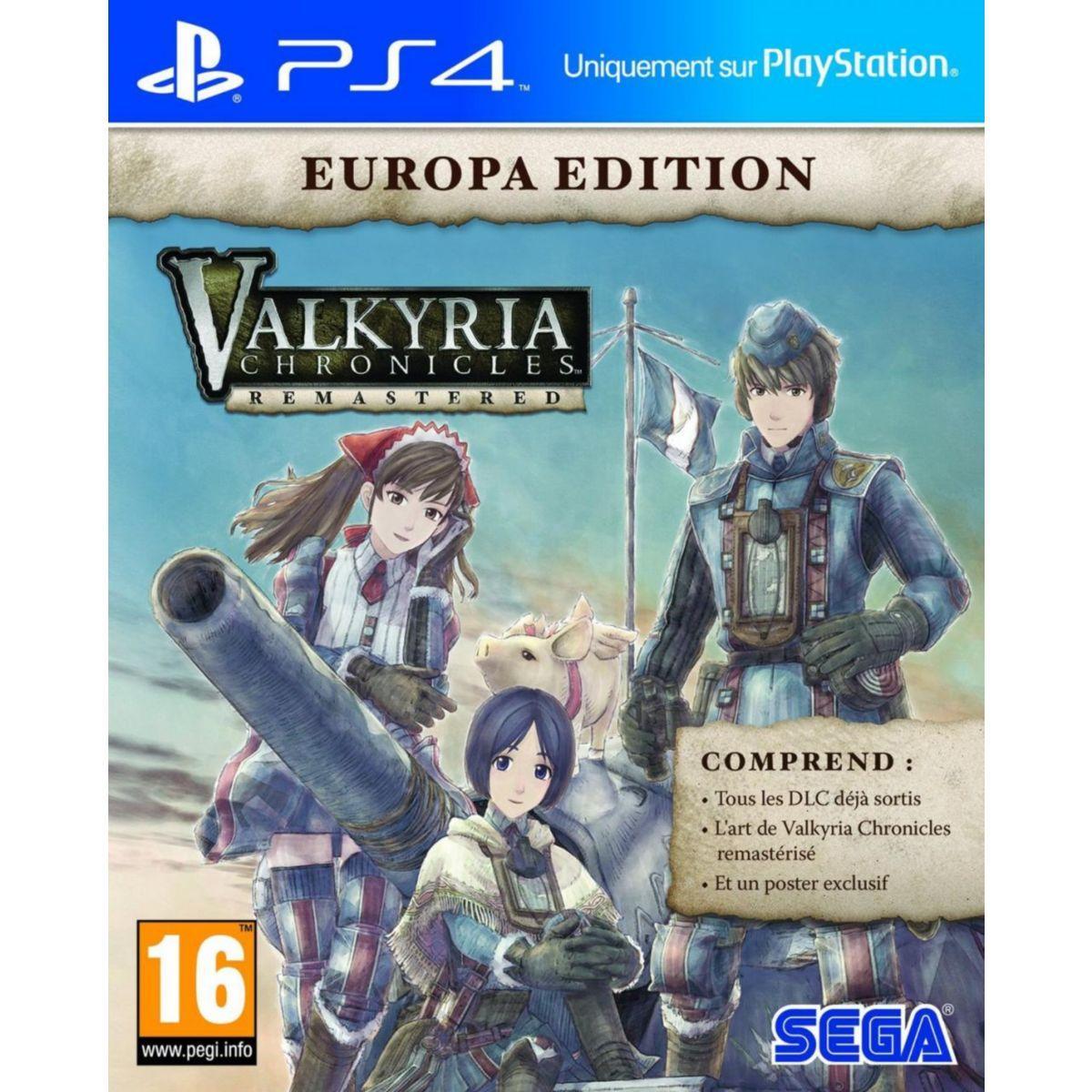 Jeu ps4 koch media valkyria chronicles remastered europa ed (photo)