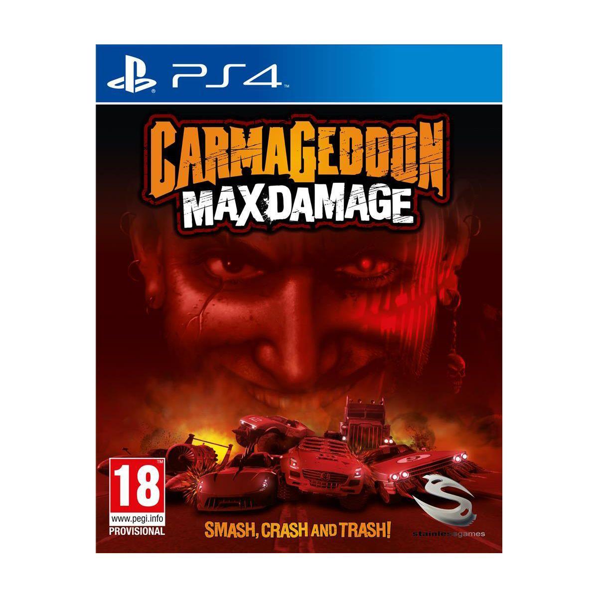 Jeu ps4 just for games carmageddon max damage - 3% de remise immédiate avec le code : multi3 (photo)