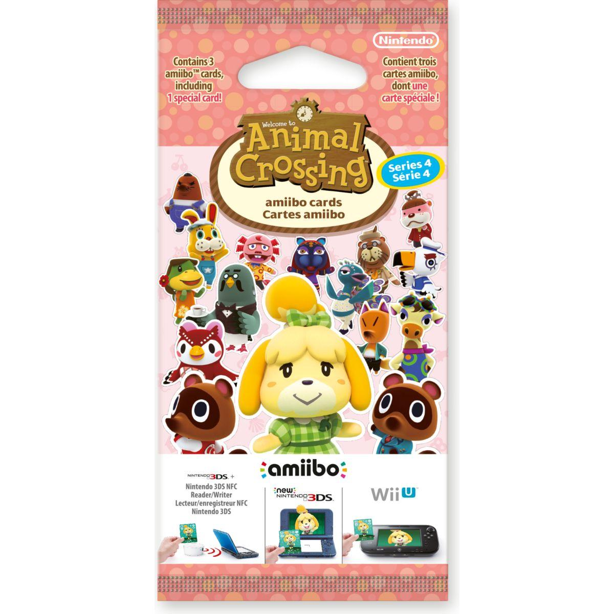 Figurine nintendo 3 cartes animal crossing hdd s�rie 4 (photo)