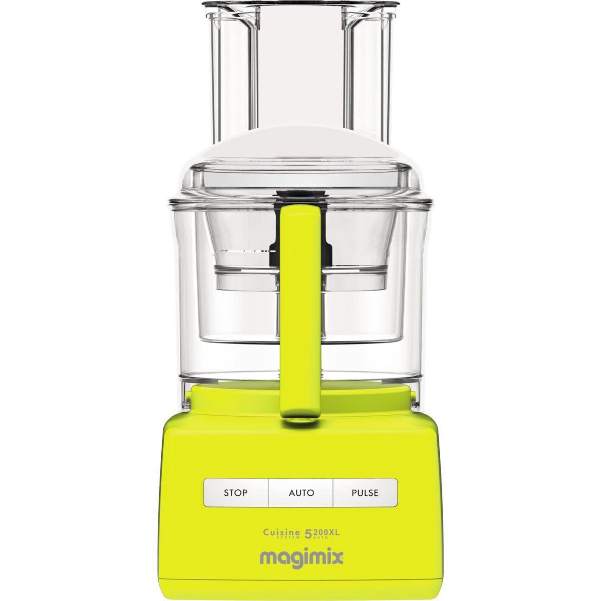 Robot magimix 18705f cs 5200 xl jaune premium - livraison offerte : code livpremium (photo)