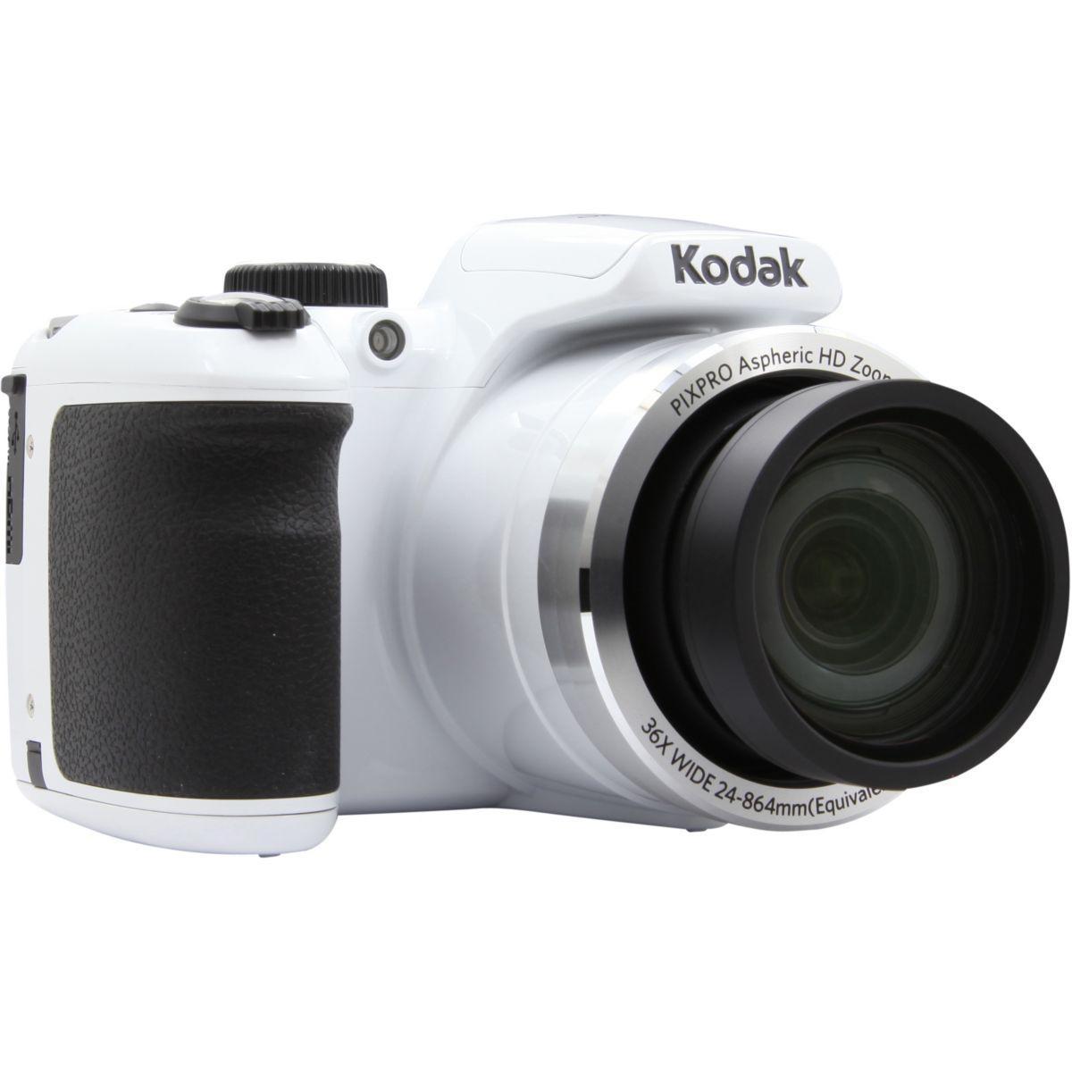 Appareil photo bridge kodak pixpro az365 blanc - 7% de remise immédiate avec le code : multi7 (photo)