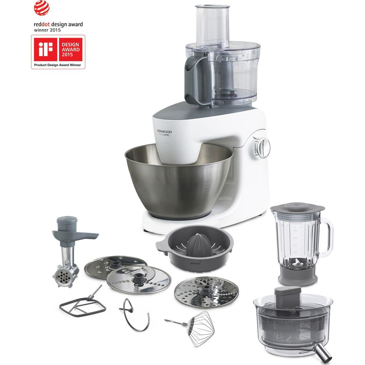 Robot kenwood khh326wh multi one - 15% de remise immédiate avec le code : top15 (photo)