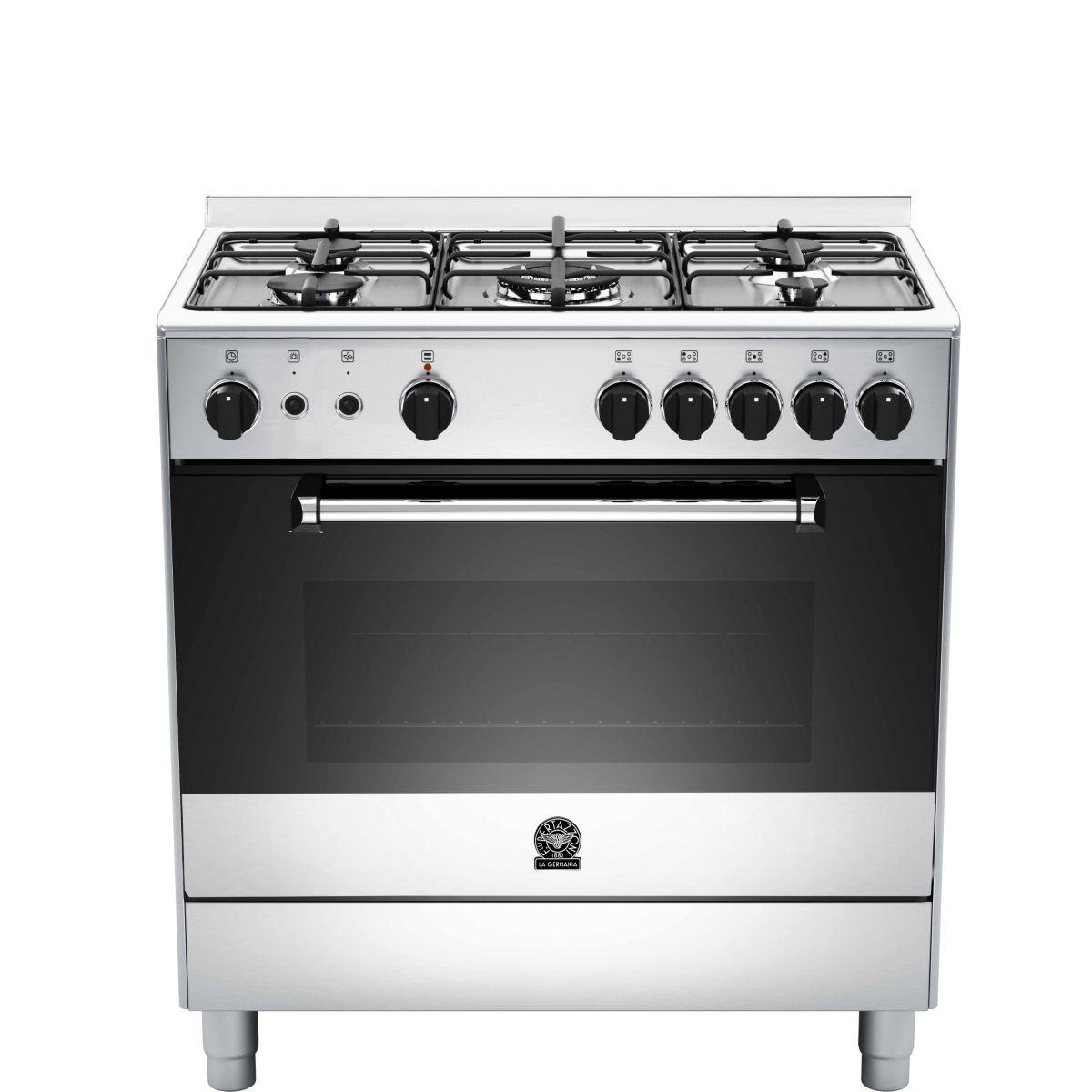 Piano de cuisson gaz bertazzoni germania am85c71dx - livraison offerte : code livp (photo)