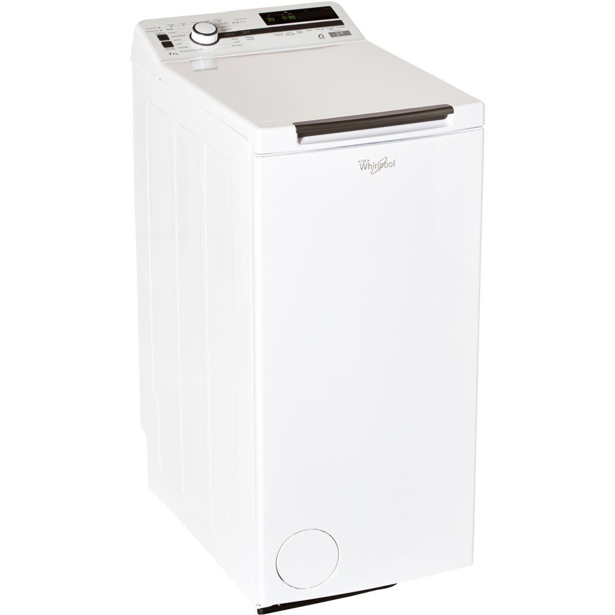 Lave linge top whirlpool tdlr 70230 (photo)