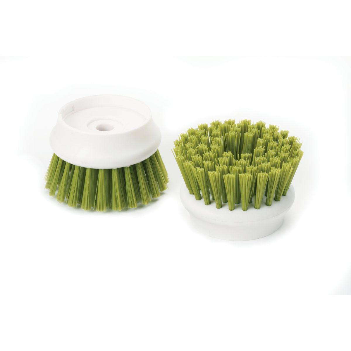 Brosse joseph joseph de rechange set de 2 palm scrub -vert - 7% de remise imm�diate avec le code : deal7 (photo)