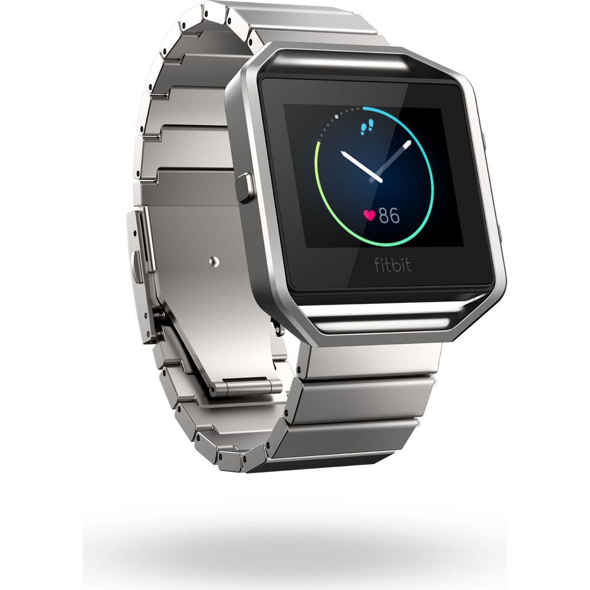 Accessoire fitbit bracelet blaze metal silver - 15% de remise immédiate avec le code : cool15 (photo)