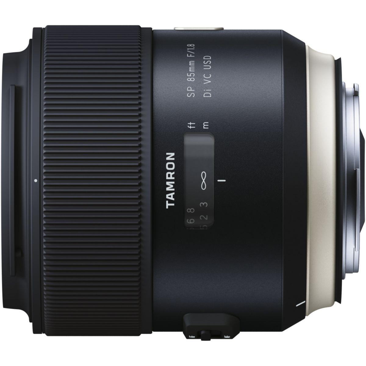 Objectif pour reflex tamron sp 85mm f/1,8 di vc usd canon - 5%...