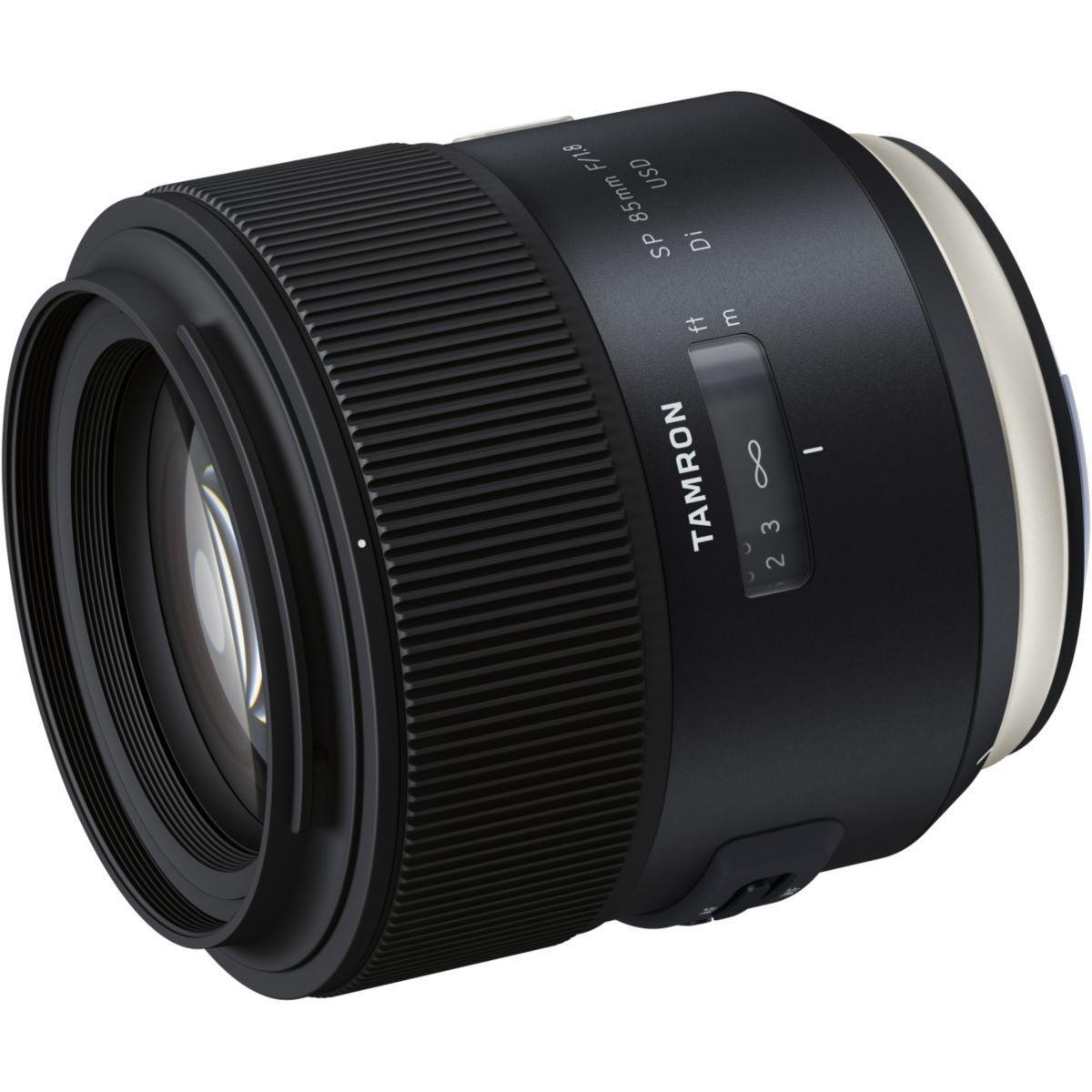 Objectif pour reflex tamron sp 85mm f/1,8 di usd sony - livrai...