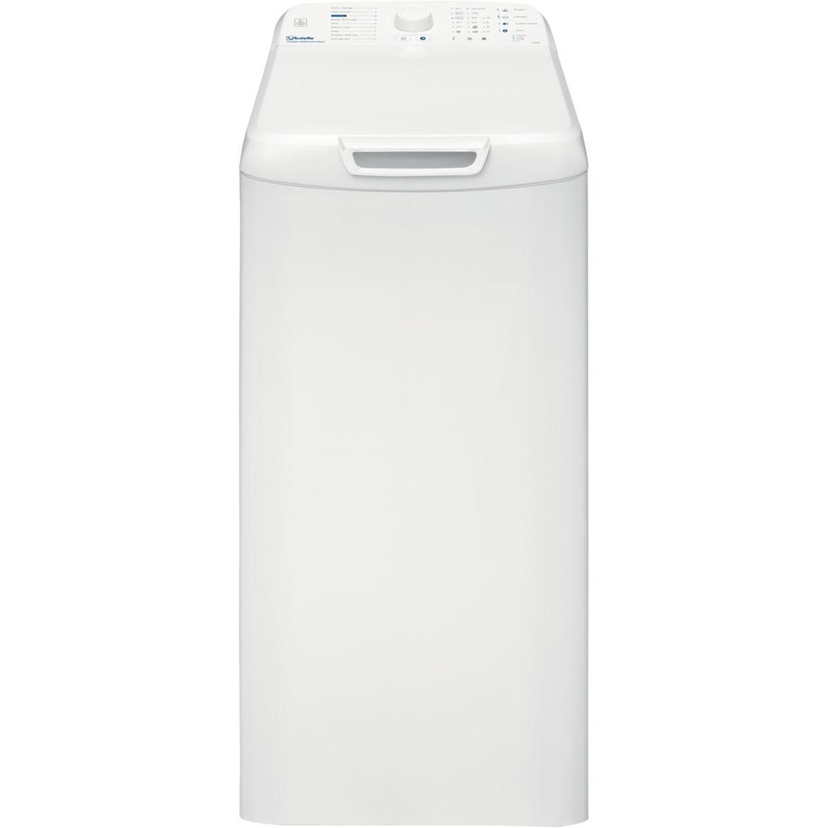 Lave-linge top vedette vt602b - 2% de remise imm�diate avec le code : gam2