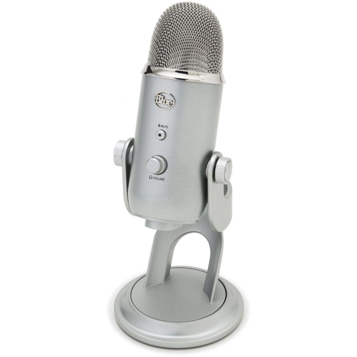 Micro gamer blue microphones yeti - livraison offerte : code premium (photo)