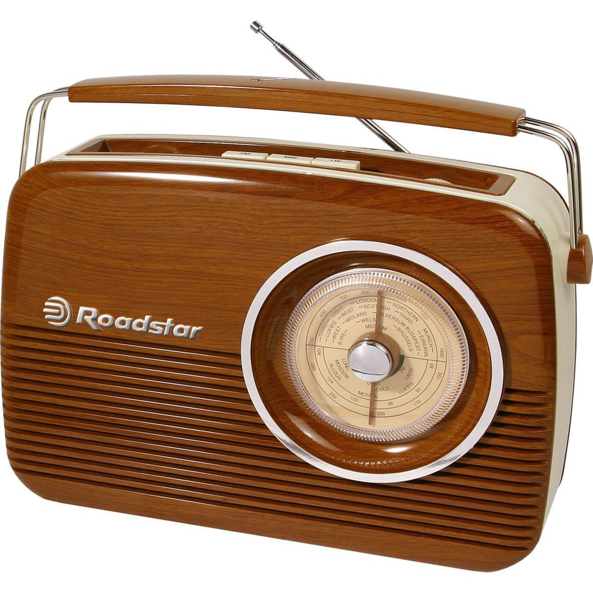 Radio analogique roadstar tra-1957 cr