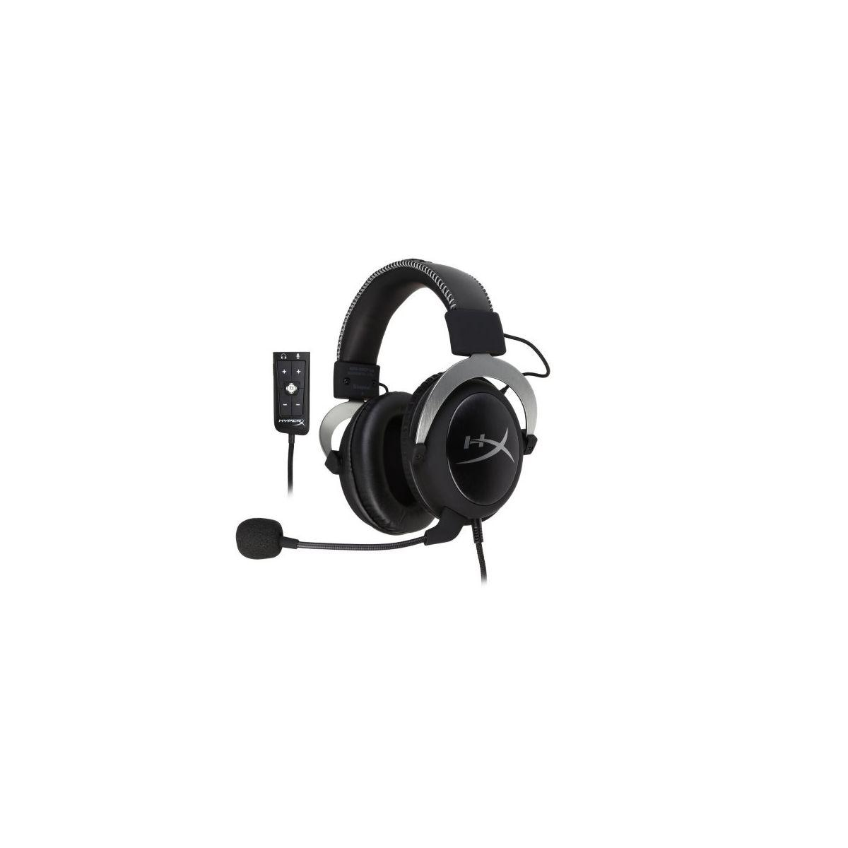 Casque micro gamer hyperx cloud ii argent - 5% de remise : code multi5 (photo)
