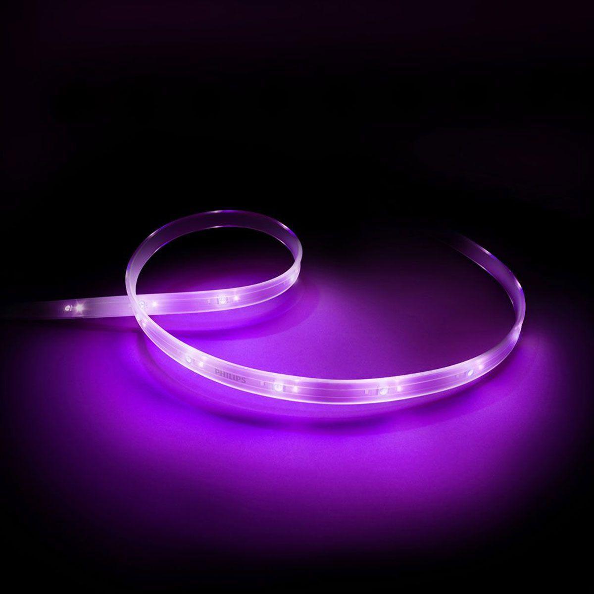 Bandeau led philips hue lightstrip plus 1m extension (photo)