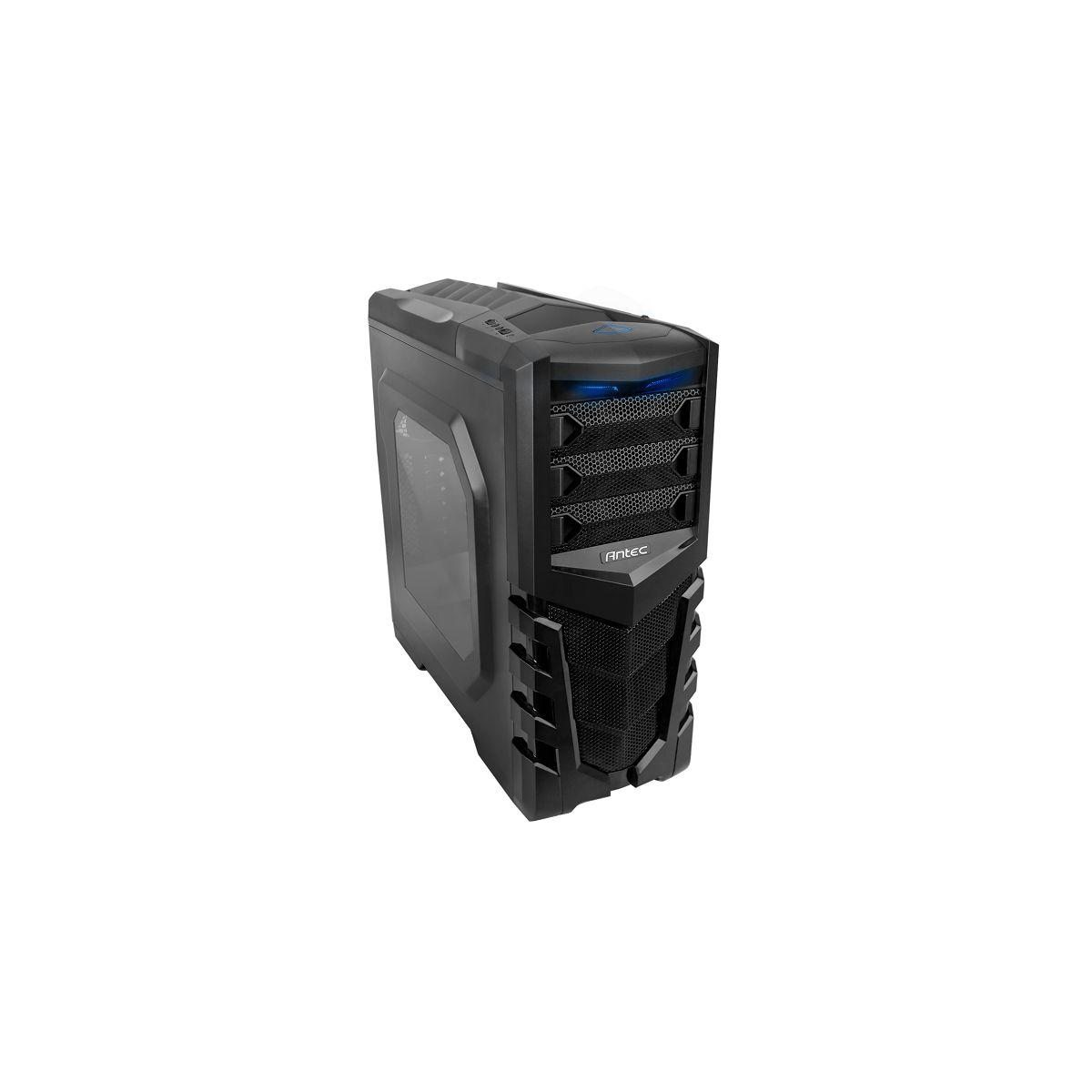 Boîtier antec gx505 window blue - 3% de remise immédiate avec le code : multi3 (photo)