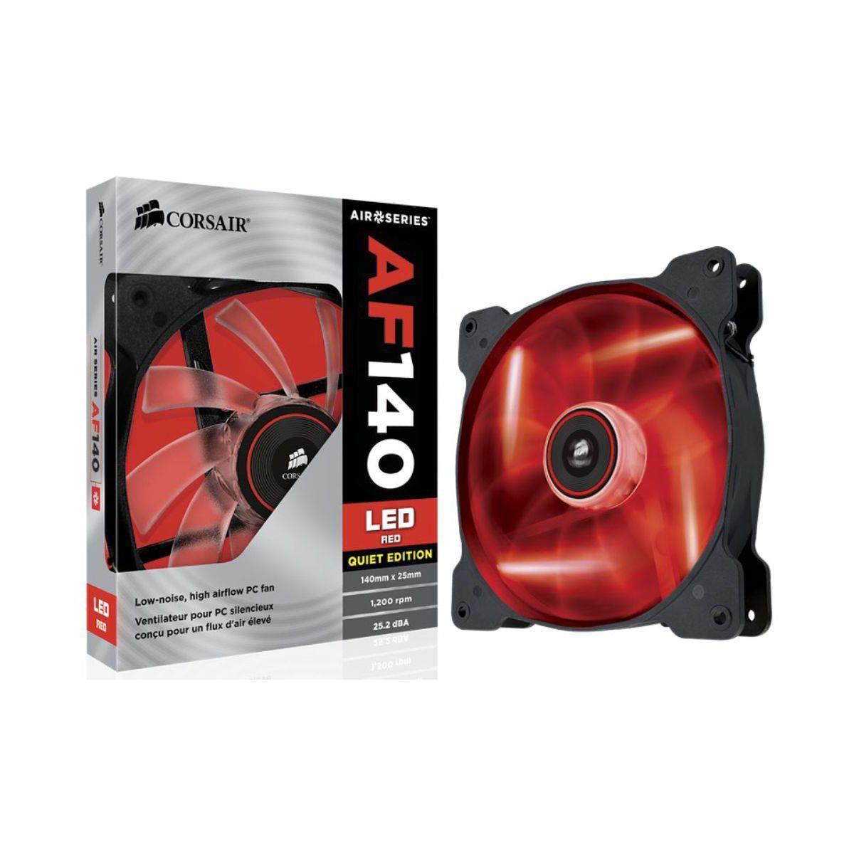 Ventilateur antec led fan af140-led, red - 20% de remise immédiate avec le code : cool20