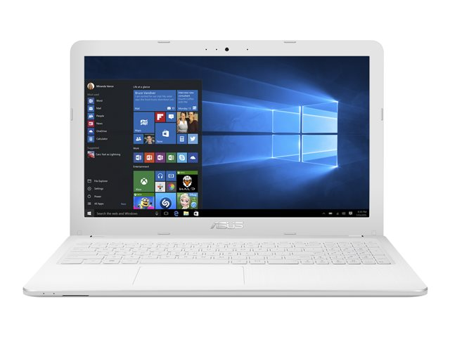 Pc portable asus vivobook x540sa-xx210t blanc (photo)